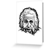 Albert Einstein Greeting Card