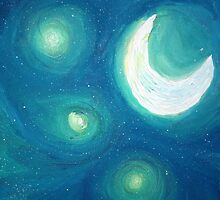 Night Sky I by Michelle Ottey