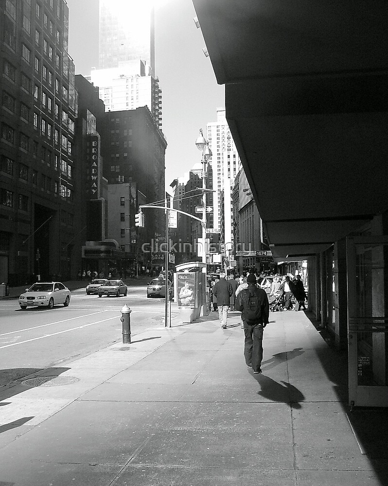 Bright shadows of Broadway by clickinhistory