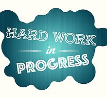 Hard work graphic by nikido