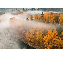 Fog in the Fall Photographic Print