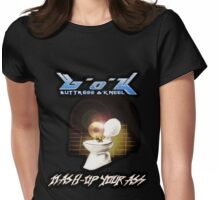 Buttress O'Kneel - Mash-Up Your Ass... Womens Fitted T-Shirt