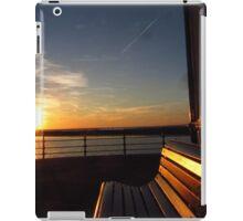 SUNSET SEAT iPad Case/Skin