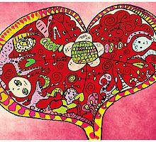 Heart Full of Love by Maureen Zaharie