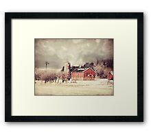 Sioux City Barn & Silo Framed Print