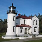 Admiralty Head Lighthouse by Rhonda R Clements