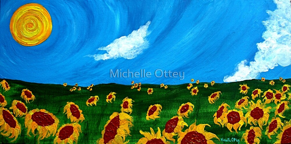 Second in a Series: Vincent in the Field by Michelle Ottey