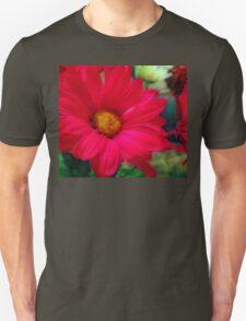 Red Daisies Unisex T-Shirt