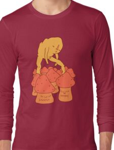 Under tender feet go the hopes of a noble people Long Sleeve T-Shirt