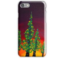 Tree Line at Gloaming iPhone Case/Skin