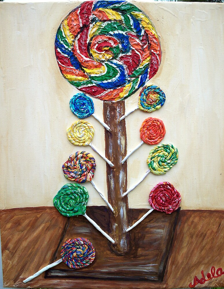 """""""Lots O' Lollipops"""" by Adela Camille Sutton"""