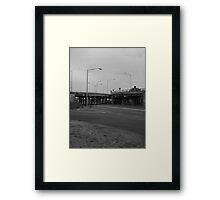 b&w freeway: smart inspired Framed Print