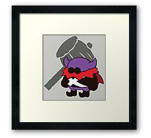 Lord Crump - Sunset Shores Framed Print