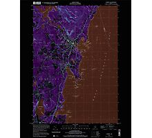 Maine USGS Historical Map Camden 104991 2000 24000 Inversion Photographic Print