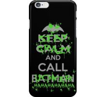 Stay Crazy (Green Version) iPhone Case/Skin