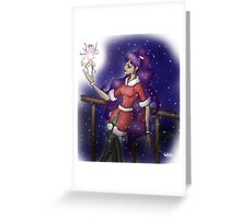 The Christmas Faerie  Greeting Card