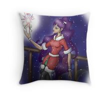 The Christmas Faerie  Throw Pillow