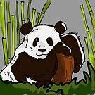 panda  by Berker Sirman