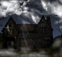 Spooky house by Annika Strömgren