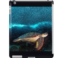 Turtle and Sardines iPad Case/Skin