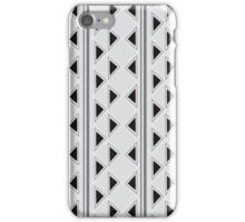 Vertical Triangles iPhone Case/Skin