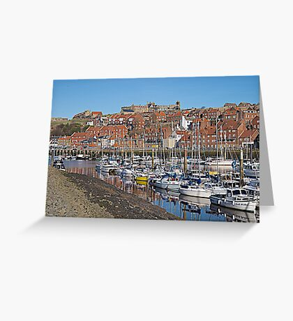 The Marina Greeting Card
