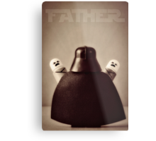 I Am Your Father Metal Print