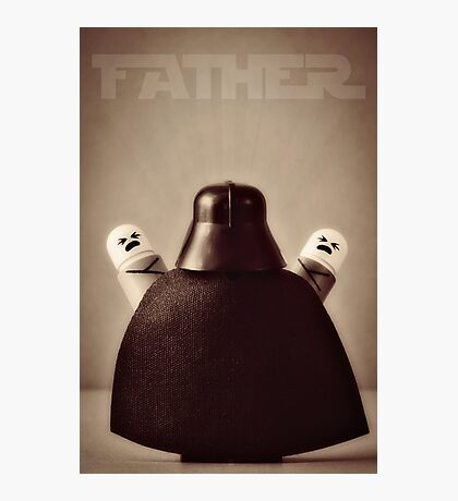 I Am Your Father Photographic Print