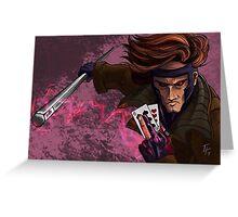 X-men Gambit Greeting Card