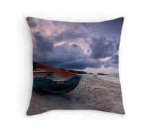 Missin at sea Throw Pillow