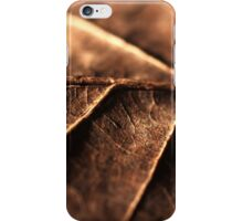 day 39: leaves (texture III) iPhone Case/Skin