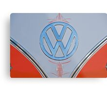 Volkwagon Logo/Button Metal Print