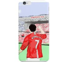 Ronaldo and the Stretford End iPhone Case/Skin
