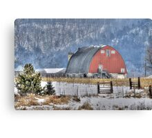 Winter in Wisconsin Canvas Print
