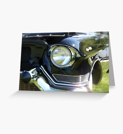 Classic 50's Cadillac  Greeting Card
