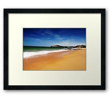 Summer is here Framed Print