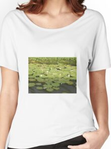 Lily Pad Women's Relaxed Fit T-Shirt