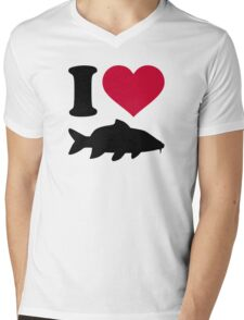 I love carps Mens V-Neck T-Shirt