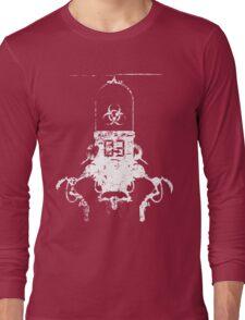 Killbot 03 - Bitter Pill (battle damaged edition) Long Sleeve T-Shirt