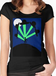 Abduction Humor Women's Fitted Scoop T-Shirt