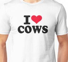 I love cows Unisex T-Shirt
