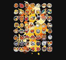 Pokemon - Fire invasion (Black background) T-Shirt