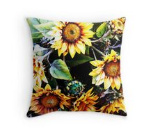 bet the bees love these Throw Pillow