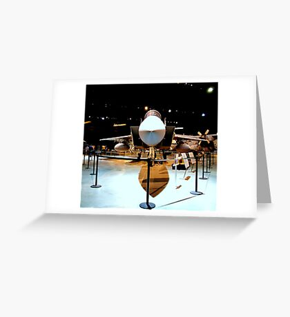 GET THE POINT..........................Air Force power... Greeting Card