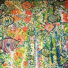 """ Fish garden  "" by catherine walker"