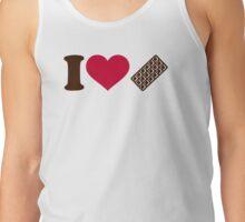 I love Chocolate Tank Top