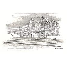 The Edinburgh Old Town 483 Photographic Print