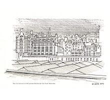 The Edinburgh Old Town 484 Photographic Print