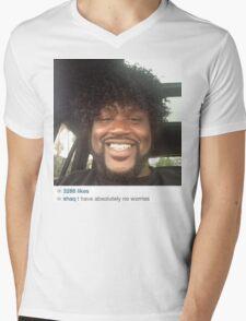 No Worries Mens V-Neck T-Shirt