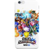 Super Smash Bros. for Wii U [Full Art] iPhone Case/Skin